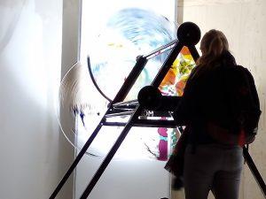 reuze caleidoscoop tijdens Dutch Design week