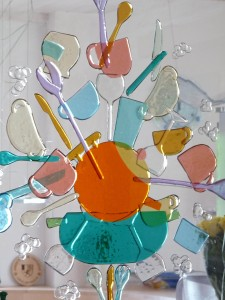 Fuse glaskunst  raam keuken