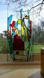 glas in lood cursus Clarezia familie hotel Zwitserland